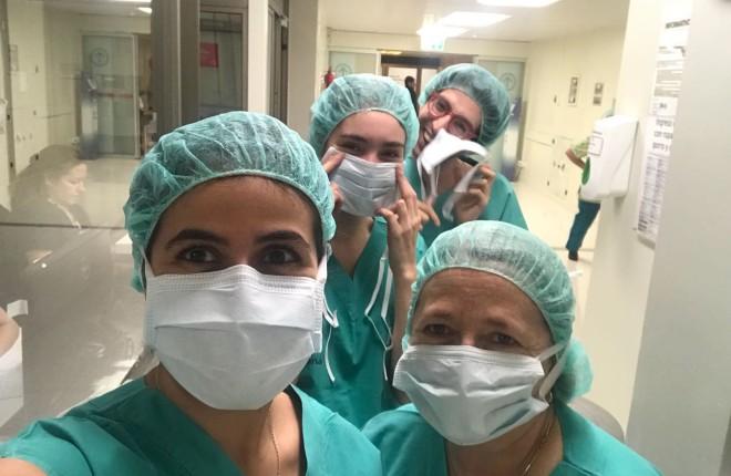 Alumno participa en Cirugía Cerebral en Vigilia