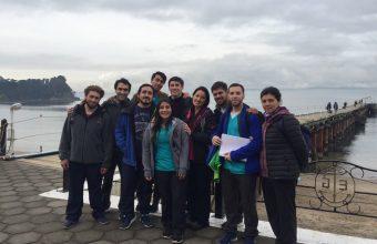Futuros kinesiólogos realizan evaluación en Jardín Infantil de Isla Quiriquina