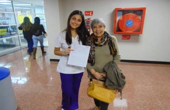 Futuros nutricionistas organizan Jornada para Adulto Mayor