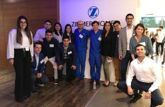 Alumnos de la Especialidad de Implantología realizan curso Zimmer en New Jersey