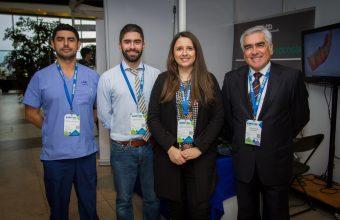 Odontología UDD participó en la Expomed 2019
