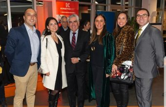 Kinesiología UDD participó en 12° aniversario de Kinetic
