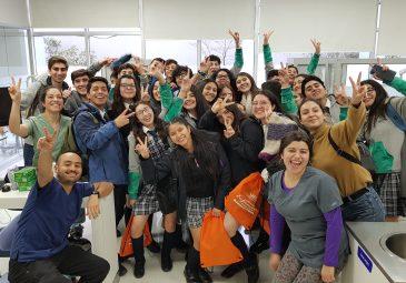 Un centenar de alumnos se reunieron en Taller Vocacional