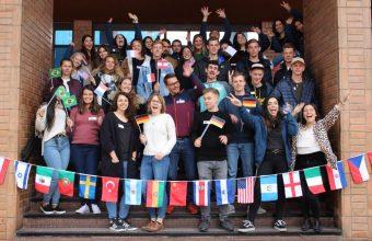 Facultad recibe a alumnos internacionales