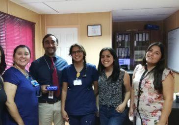 Carrera de Enfermería presenta resultados de tesis a organizaciones …