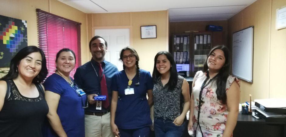 Carrera de Enfermería presenta resultados de tesis a organizaciones involucradas