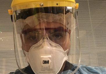 En primera línea contra la pandemia: Felipe Pinto, egresado de …