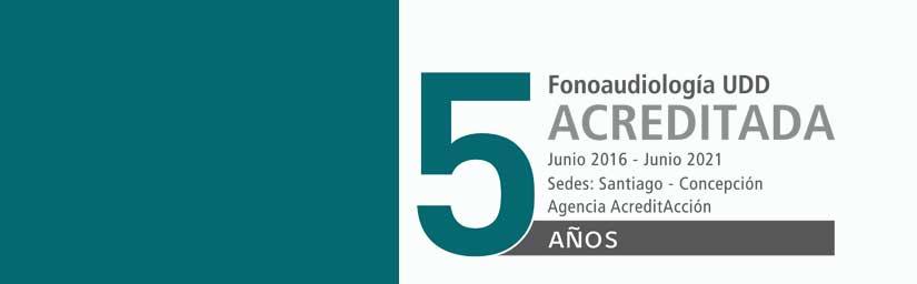 Fonoaudiología UDD: 5 años acreditada