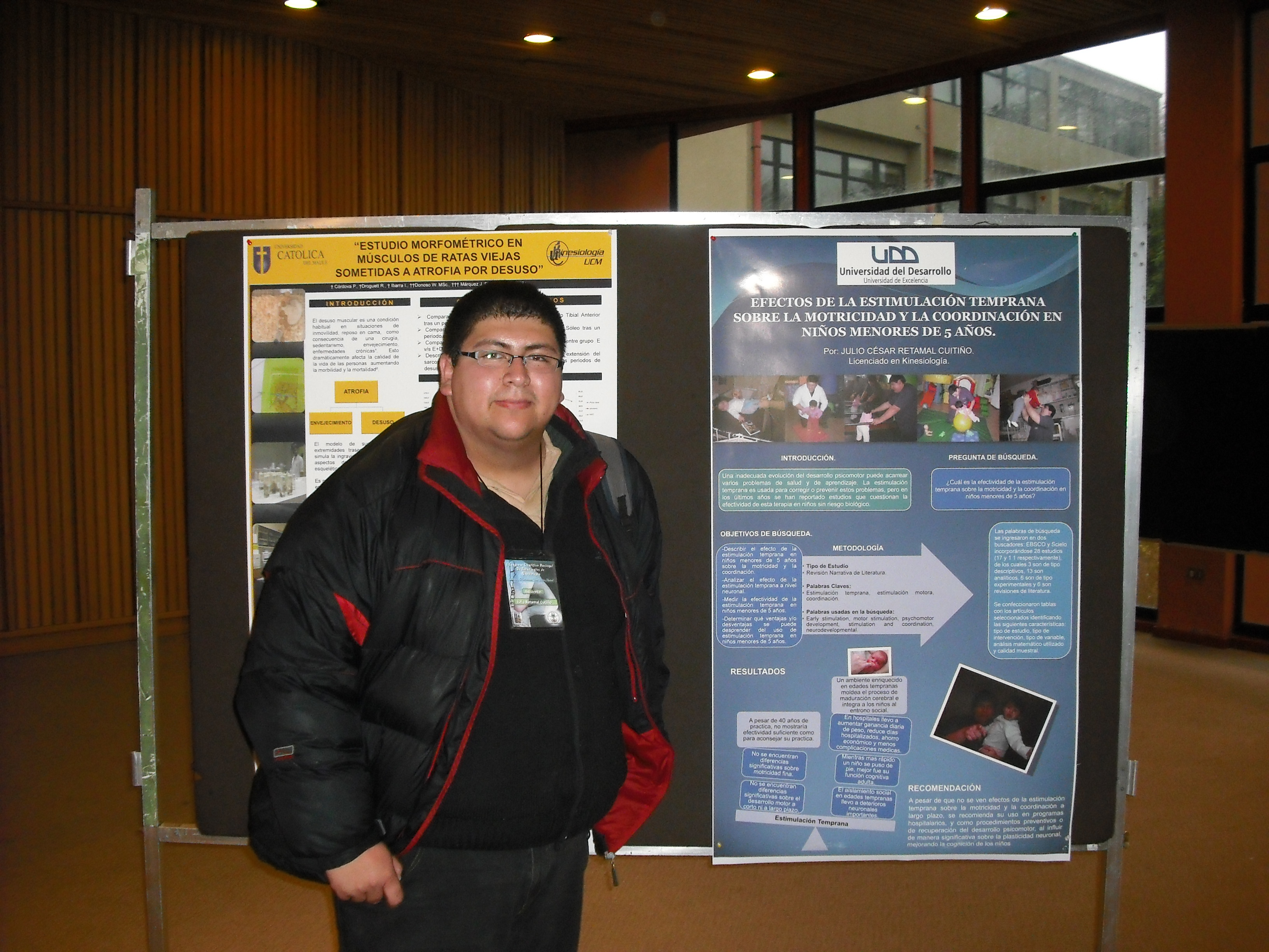 Alumnos de kinesiología participaron en destacado Congreso Científico