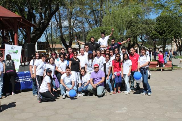 Alumnas de Kinesiología organizaron masiva corrida en Coelemu