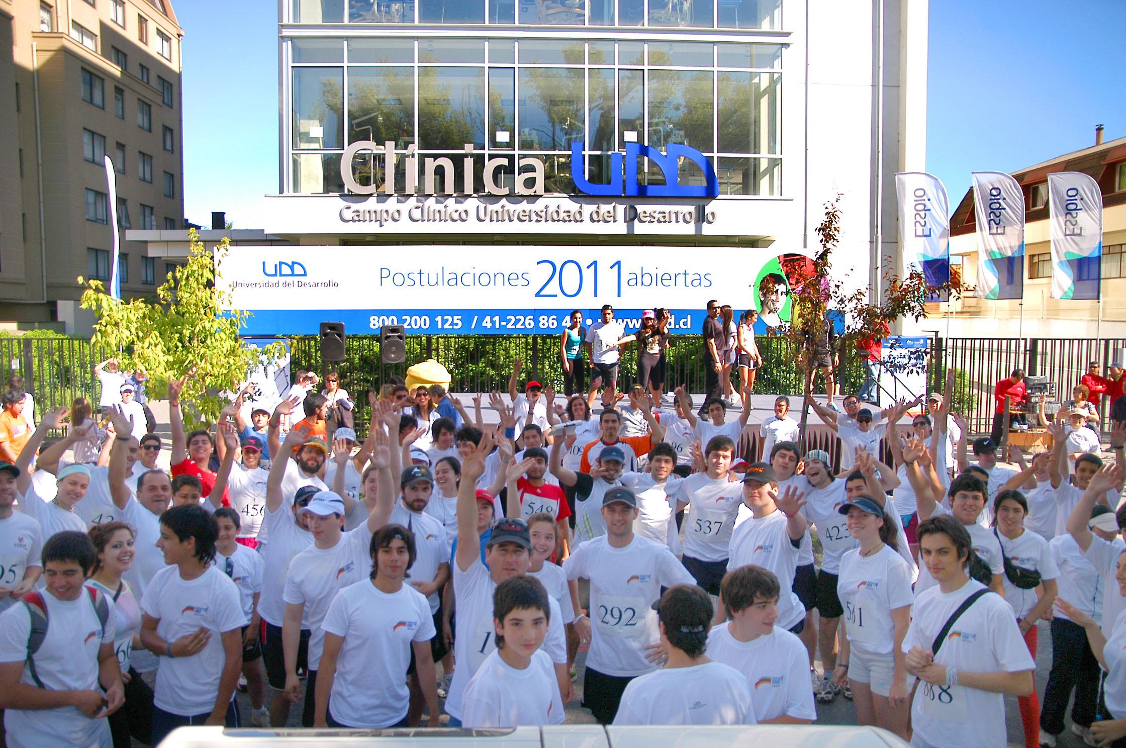 """CORRIDA UDD: Seminario   """"Estilos de vida saludable: Tips para el óptimo desempeño de una actividad deportiva"""""""