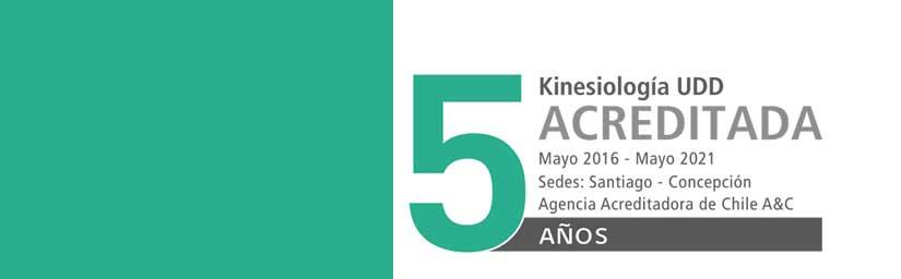 Kinesiología UDD: 5 años acreditada