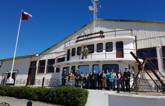 Kinesiología firma convenio con Escuela de Grumetes como nuevo campo clínico