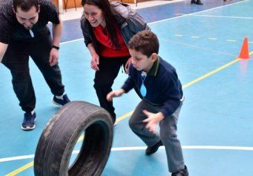Kinesiología organiza Olimpiadas Inclusivas en Colegio Bío Bío