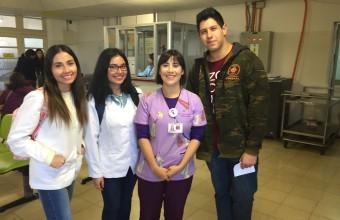 Alumnos de primer año conocen en terreno rol del nutricionista