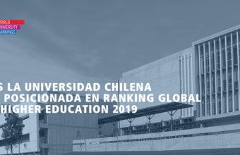 Ranking Global THE: UDD es la universidad chilena mejor posicionada