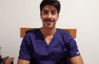 En primera línea contra la pandemia: Jorge Carrillo, egresado de Nutrición y Dietética