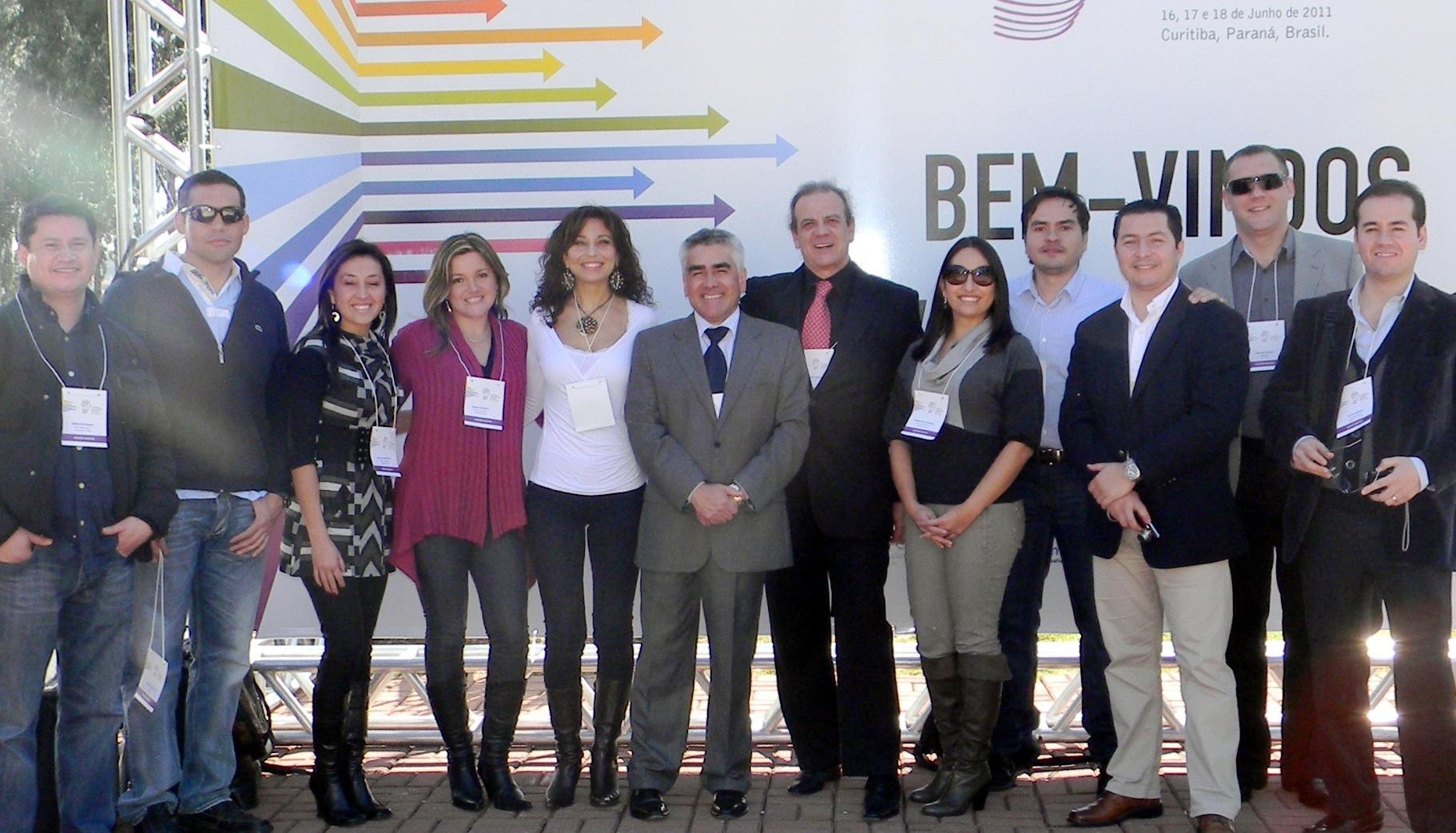 Facultad de Odontología Concepción establece importantes lazos con Universidades de Brasil y Colombia