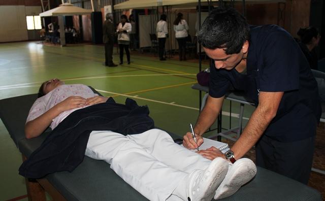 Facultad odontolog a udd realiz operativo de salud en for Gimnasio kine