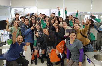 Un centenar de alumnos se reunieron en Taller Vocacional Odontología